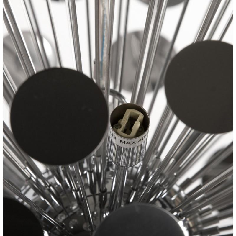 Lampe suspendue design CALAO en métal (chromé) - image 18092