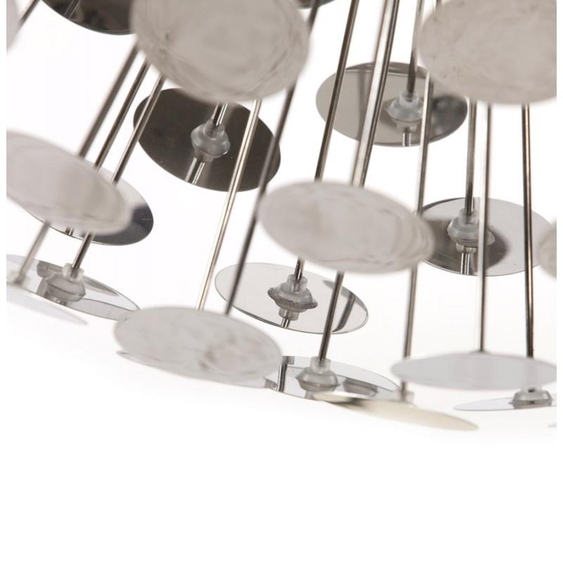 Lampe suspendue design CALAO en métal (chromé) - image 18093