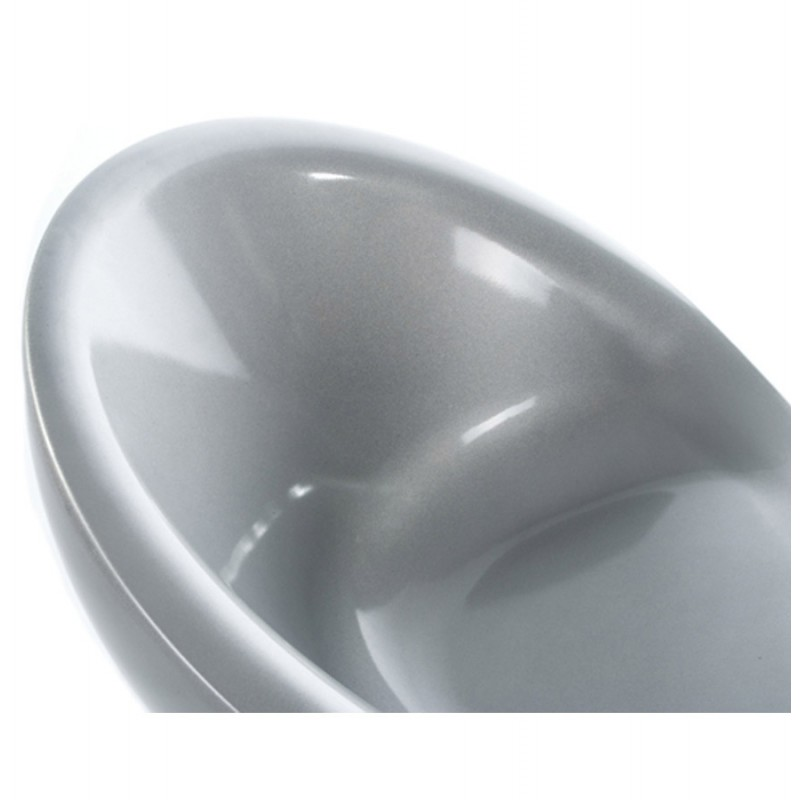 Fauteuil LOIRE sphère design en ABS (argent) - image 18134