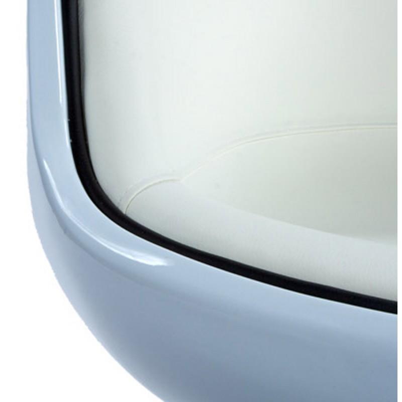 Fauteuil design TARN rotatif (blanc) - image 18266