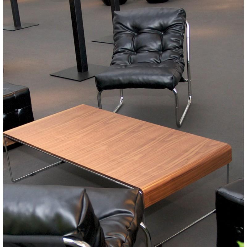 Fauteuil lounge SEINE en polyuréthane (noir) - image 18301