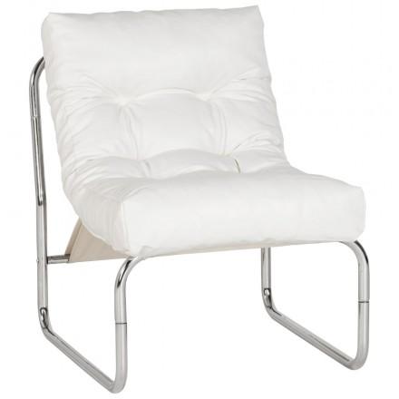 Sessel lounge SEINE polyurethan (weiß)