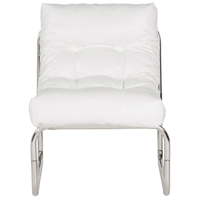 Fauteuil lounge SEINE en polyuréthane (blanc) - image 18303