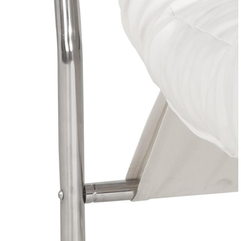 Fauteuil lounge SEINE en polyuréthane (blanc) - image 18307