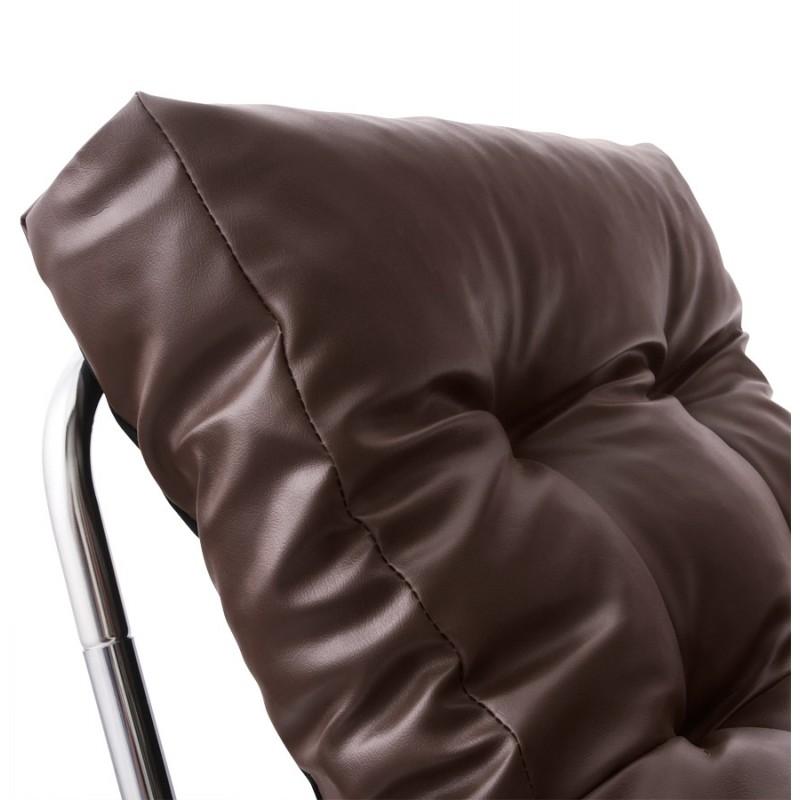 Design lounge Sessel ISERE polyurethan (braun) - image 18395