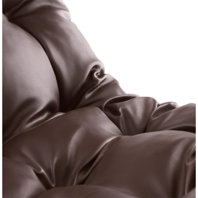 Design lounge Sessel ISERE polyurethan (braun) - image 18396