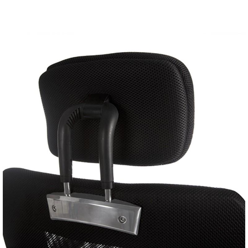 choucas b ro in stoff sessel schwarz. Black Bedroom Furniture Sets. Home Design Ideas