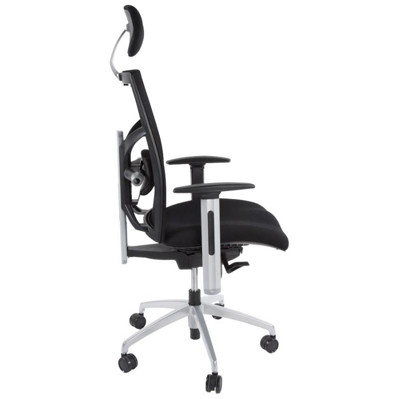 Büro Sessel CORNUE Stoff (schwarz)  - image 18457