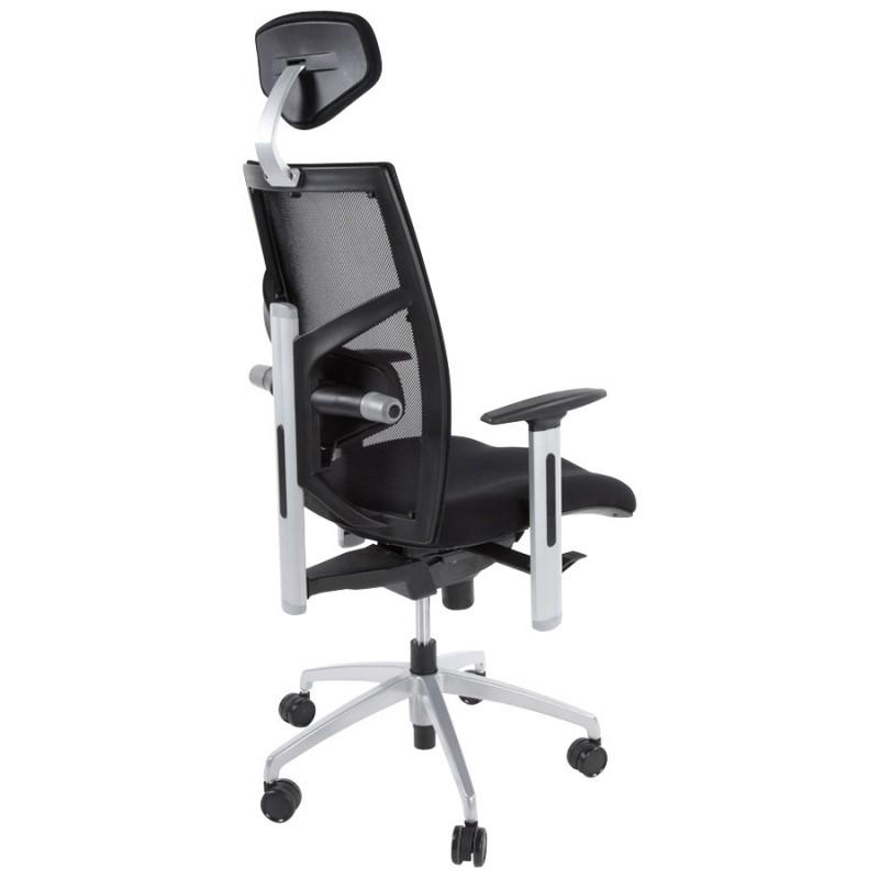 Büro Sessel CORNUE Stoff (schwarz)  - image 18458
