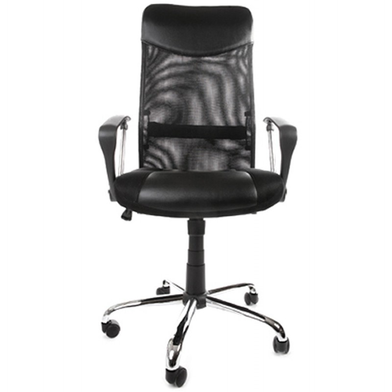 CONDOR armchair office in polyurethane and fabric mesh (black) - image 18491