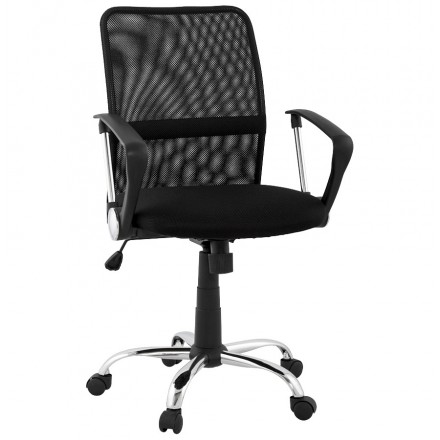 Bürostuhl CORDON (einstellbar) Textil (schwarz)