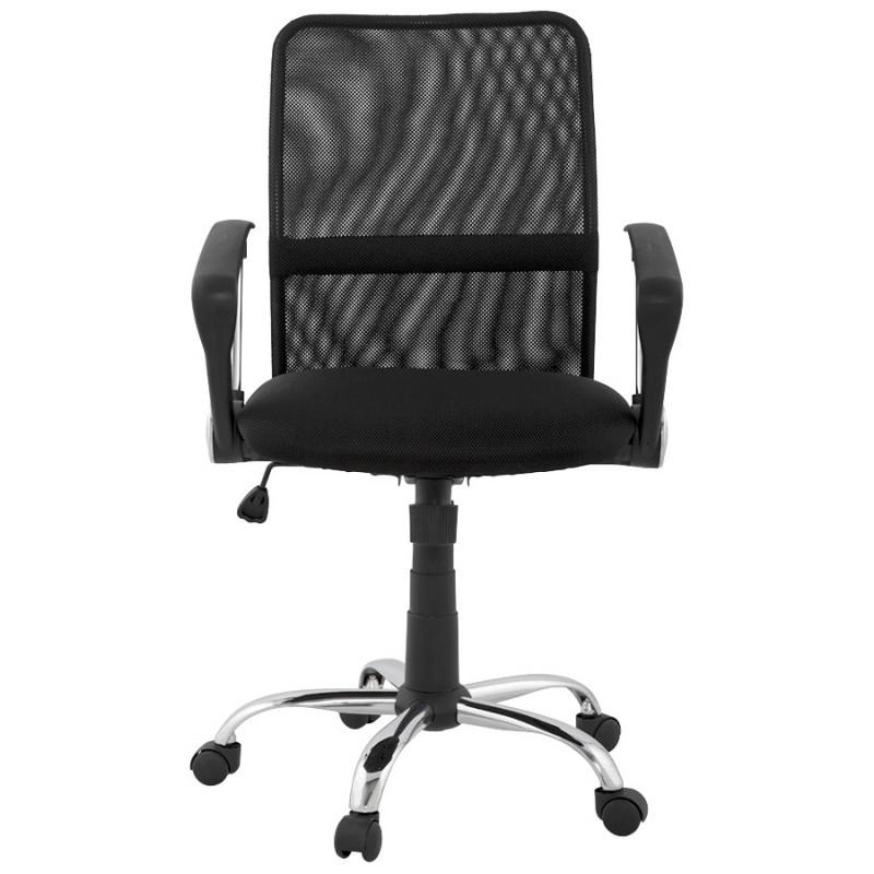 Bürostuhl CORDON (einstellbar) Textil (schwarz) - image 18514