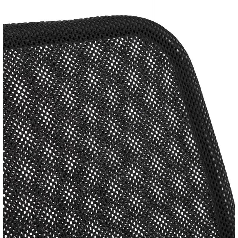 Fauteuil de bureau CORDON (réglable) en textile (noir) - image 18521