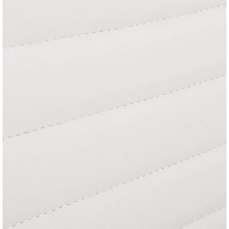 Fauteuil de bureau rotatif COURIS en polyuréthane (blanc) - image 18533