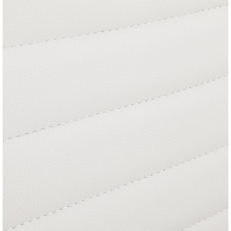 Silla de oficina de poliuretano COUROL (blanco) - image 18572