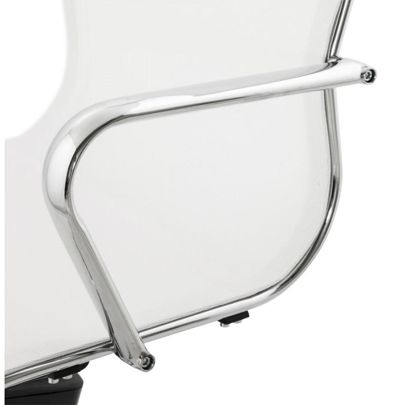 Fauteuil de bureau CRAVE en textile (blanc) - image 18629