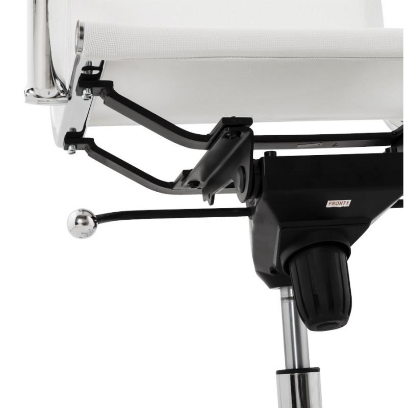 Fauteuil de bureau CRAVE en textile (blanc) - image 18630
