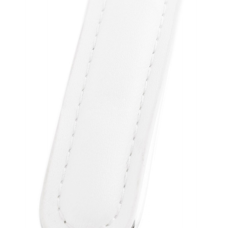 Fauteuil de bureau CHIPIE rotatif en polyuréthane (blanc) - image 18643
