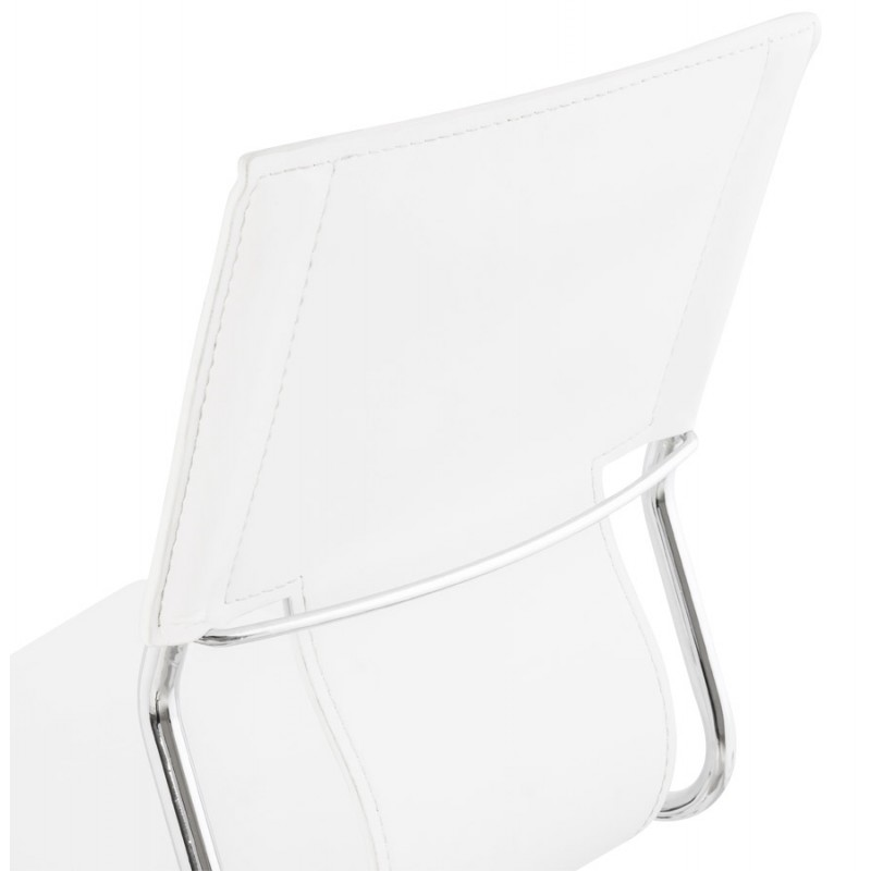 CHIPIE rotary office armchair in polyurethane (white) - image 18645