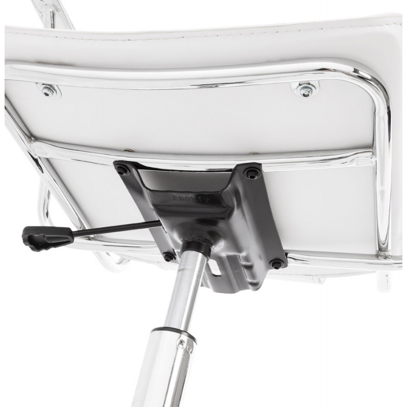 CHIPIE rotary office armchair in polyurethane (white) - image 18648