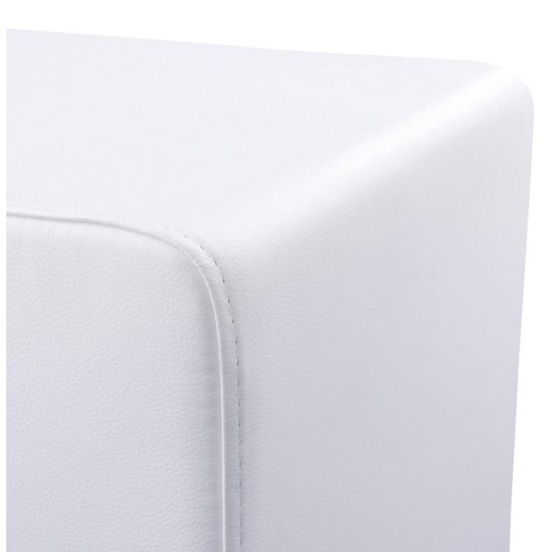 Pouf carré CAILLE en polyuréthane (blanc) - image 18654