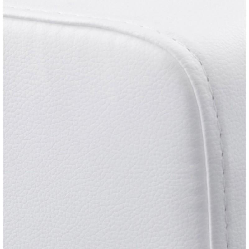 Pouf carré CAILLE en polyuréthane (blanc) - image 18656