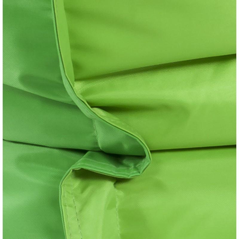 Pouf rectangulaire BUSE en textile (vert) - image 18672