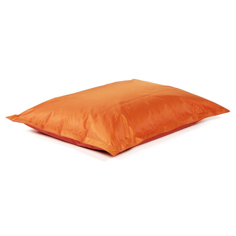 Pouf rectangulaire BUSE en textile (orange) - image 18678