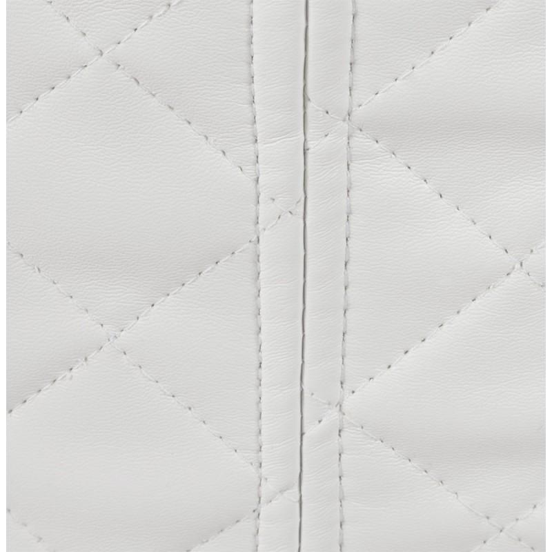 Pouf carré CARIL en polyuréthane (blanc) - image 18711