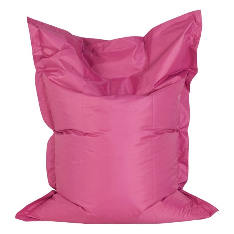 Pouf rectangulaire BUSE en textile (rose) - image 18714