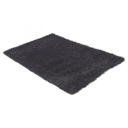 Rechteckige zeitgenössische Teppiche Madagaskar kleines Modell (120 X 170) (schwarz)