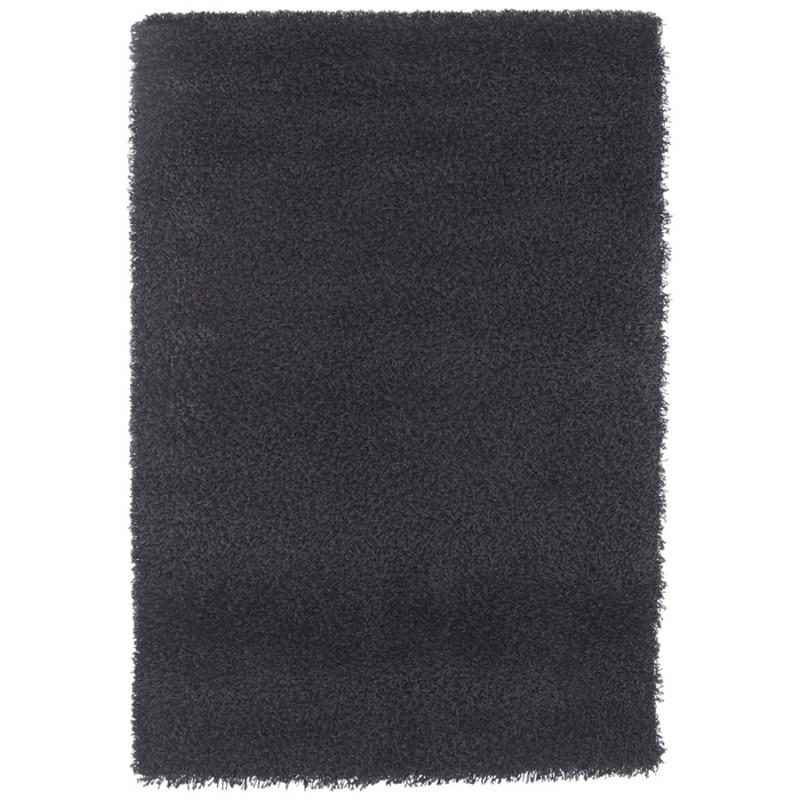 Rechteckige zeitgenössische Teppiche Madagaskar kleines Modell (120 X 170) (schwarz) - image 19848