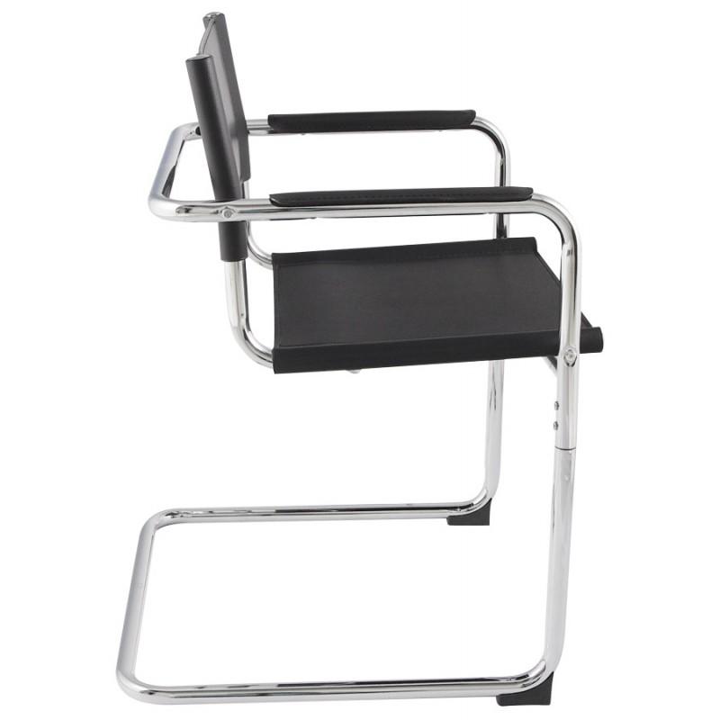 Chaise de bureau design TAHITI (noir) - image 19854