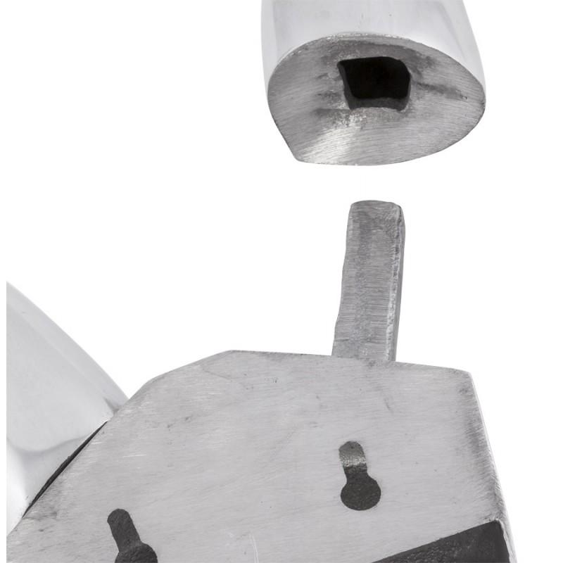 Estatua de pared aluminio AFRIQUE (aluminio)  - image 19923