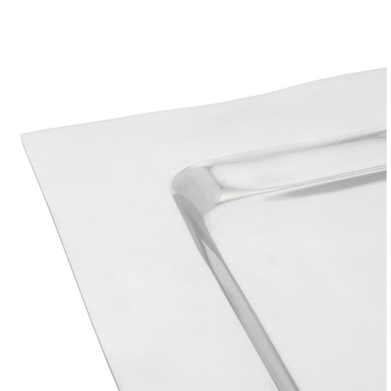 Centre de table SPIRIT carré en aluminium (aluminium) - image 19947