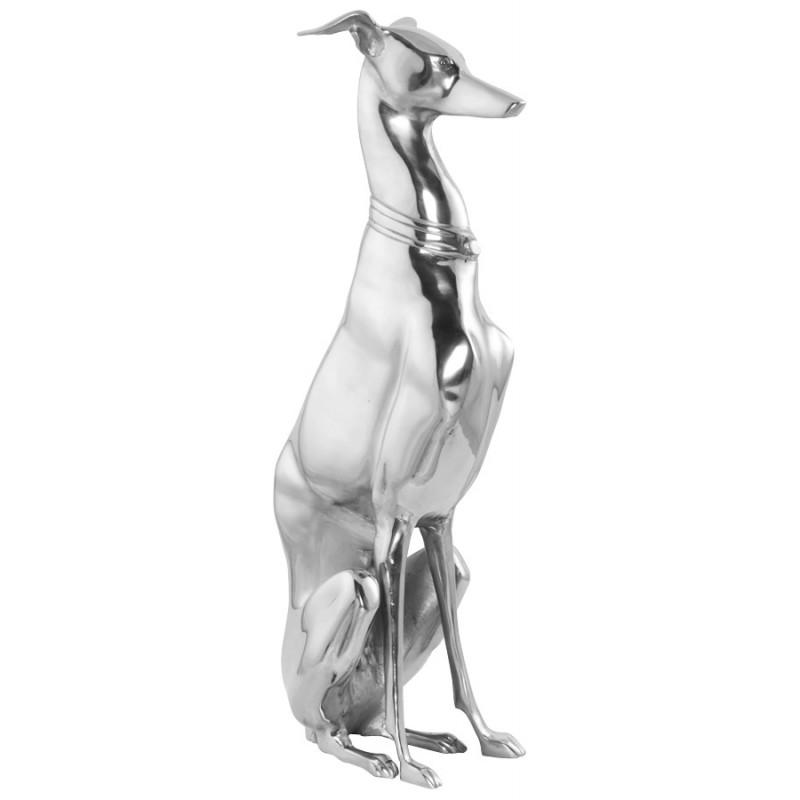LEVRIER statue in aluminium (aluminum) - image 19976