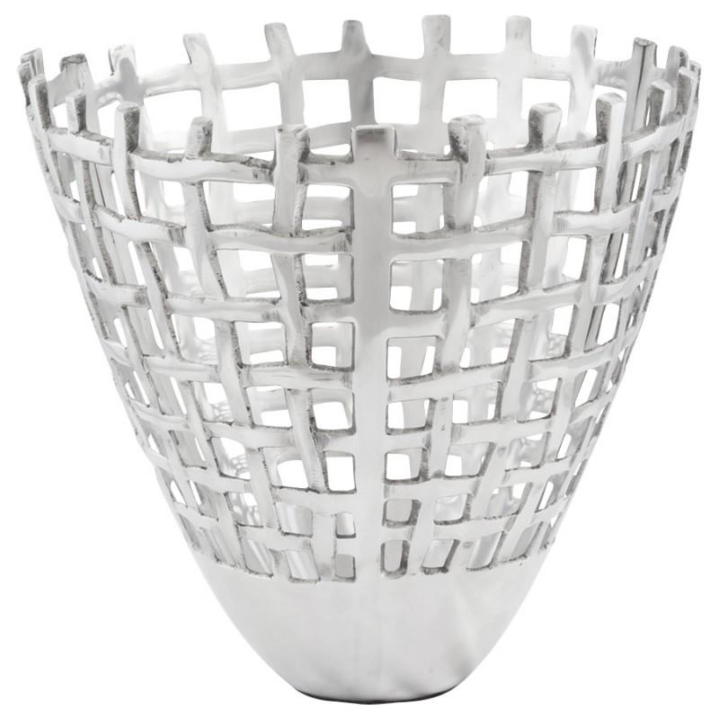 Corbeille multifonctions OVALO en aluminium (aluminium) - image 19989