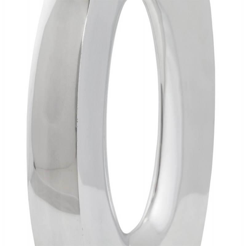 Moderne Vase ŒUF Alu (Aluminium) - image 20015
