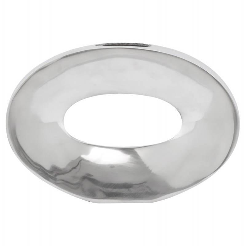 Vase contemporain HUEVO en aluminium (aluminium) - image 20020
