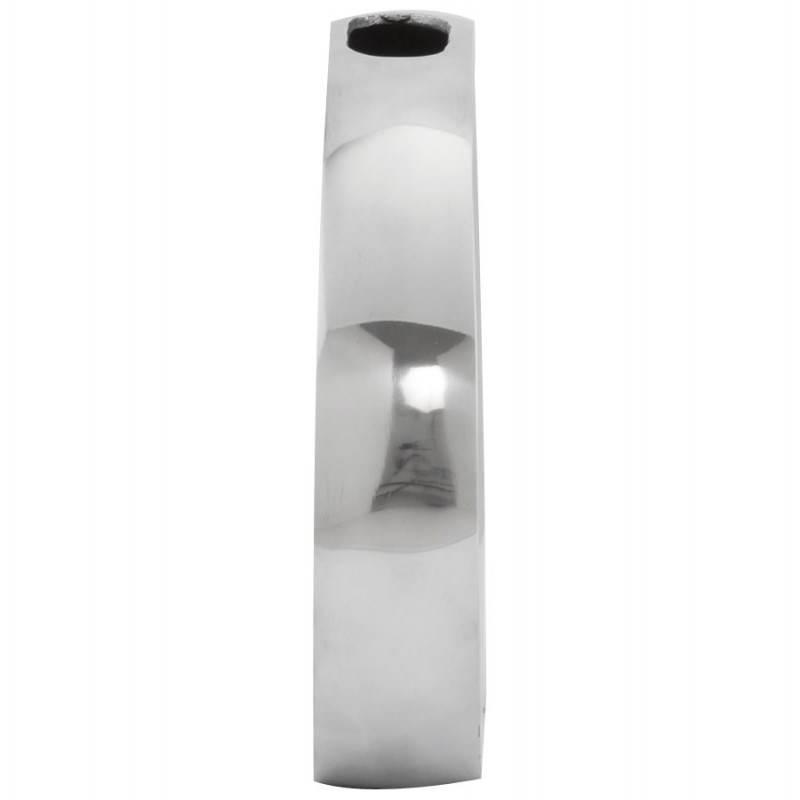 Vase contemporain HUEVO en aluminium (aluminium) - image 20021