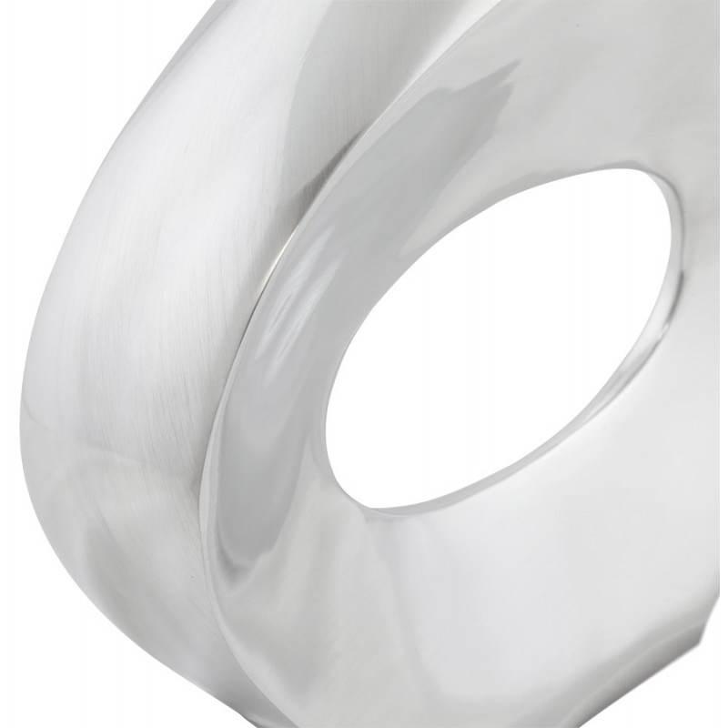 Contemporary vase GOUTTE in aluminium (aluminum) - image 20030