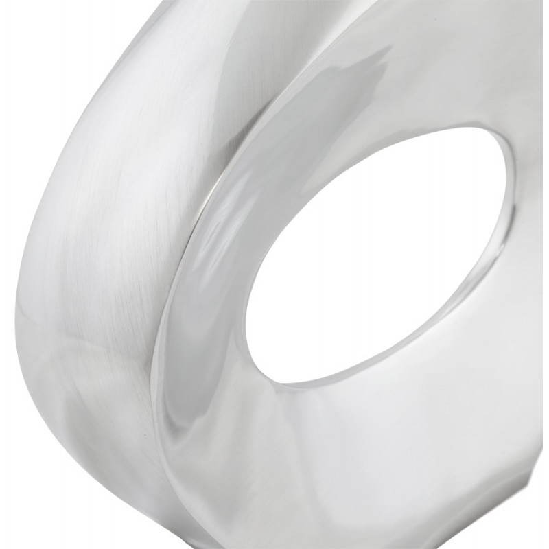 Vaso moderno GOUTTE in alluminio (alluminio) - image 20030