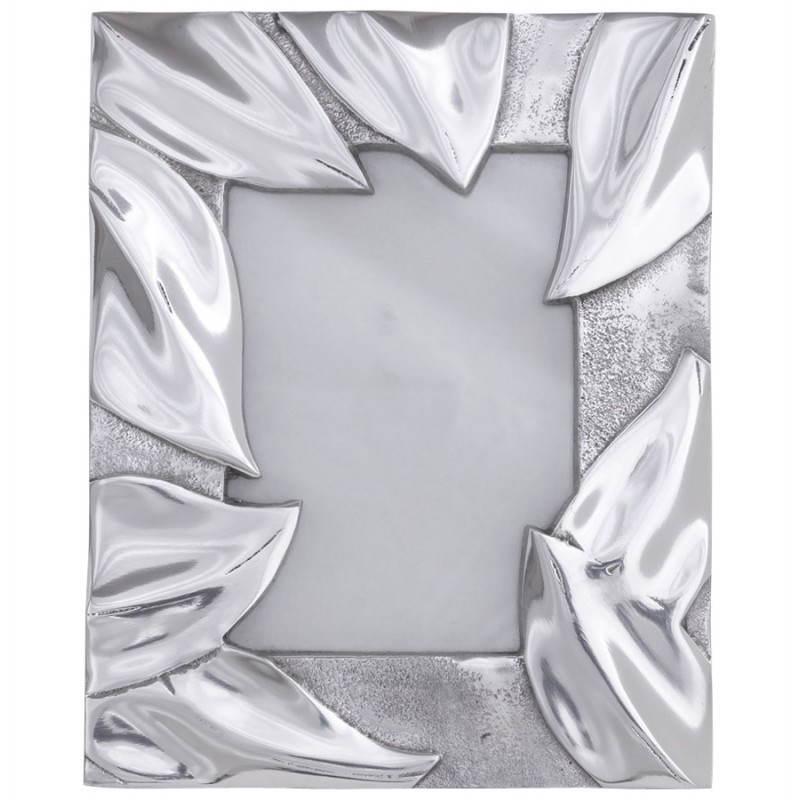 Cadre photos petit format FEUILLE en aluminium (aluminium) - image 20041
