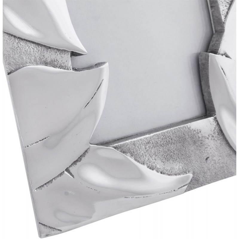 Cadre photos petit format FEUILLE en aluminium (aluminium) - image 20044