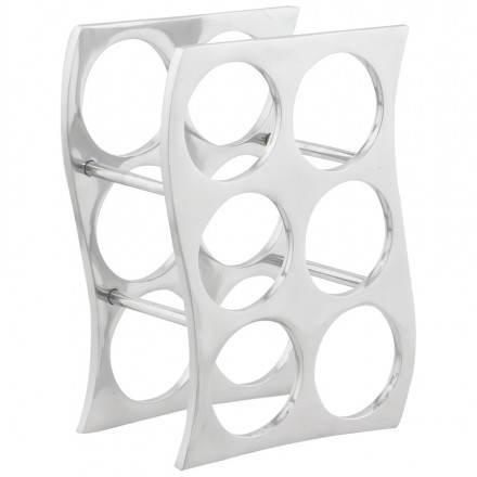 Puerta botellas HOLES en aluminio (aluminio)