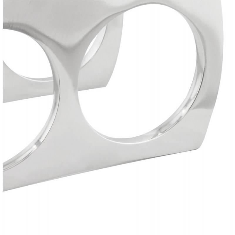 Porta bottiglie HOLES in alluminio (alluminio) - image 20065