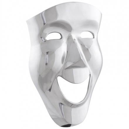Masque mural CARNAVAL en aluminium (aluminium)