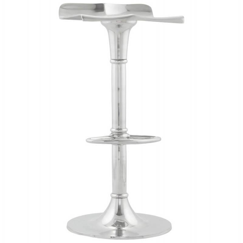 Tabouret de bar RETRO en aluminium (aluminium) - image 20081