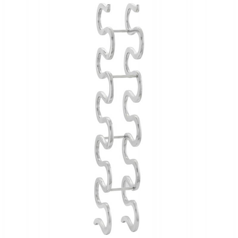 Alluminio di porta bottiglie VAGUE (alluminio)