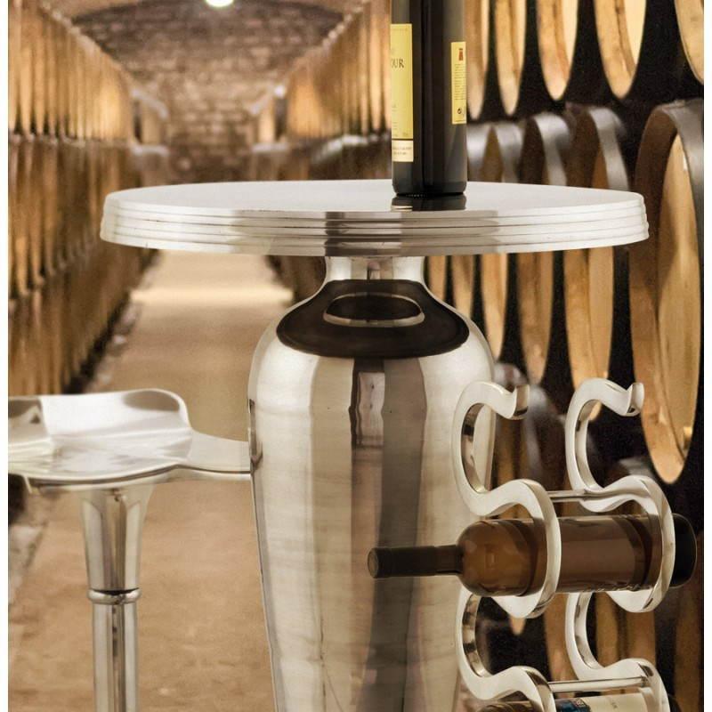 Alluminio di porta bottiglie VAGUE (alluminio) - image 20110